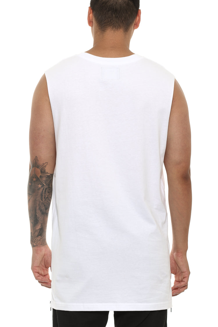 Carré Spark Capone Muscle Tee White