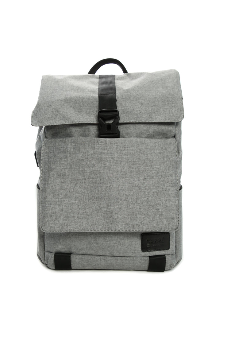 Carré Voyageurs Backpack Grey Heather
