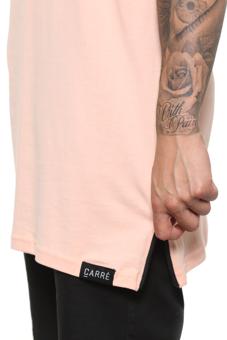 Carré Tonal Incline Capone Tee Peach