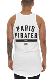 Carré Paris Pirates Gratuit Singlet White