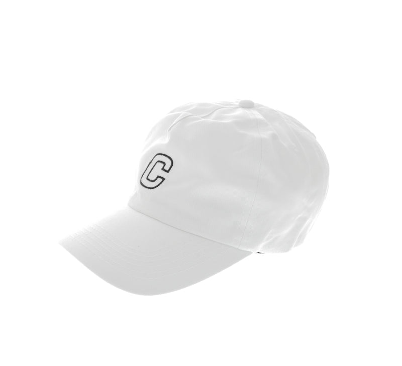 Carré Court Strapback White