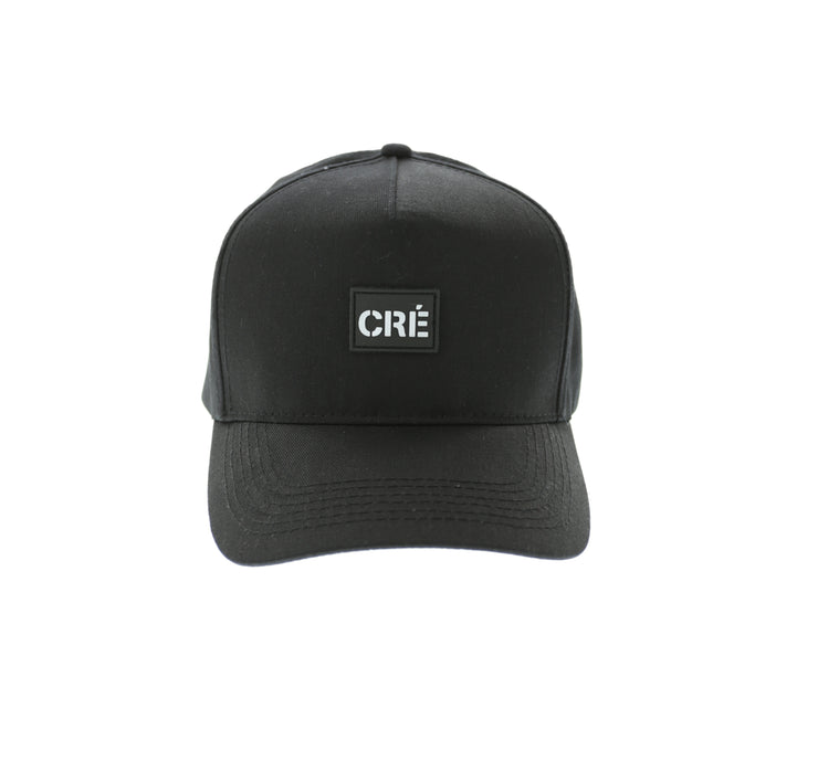 Carre Meilleur Rubber Badge Strapback Black