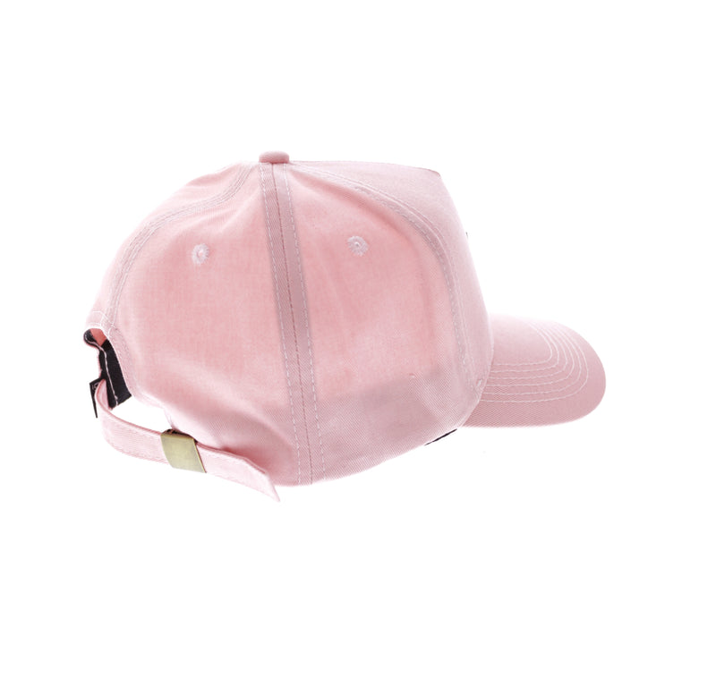 Carre Meilleur Rubber Badge Strapback Pink