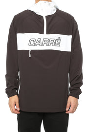 Carré Coquille Anorak Jacket Black/White