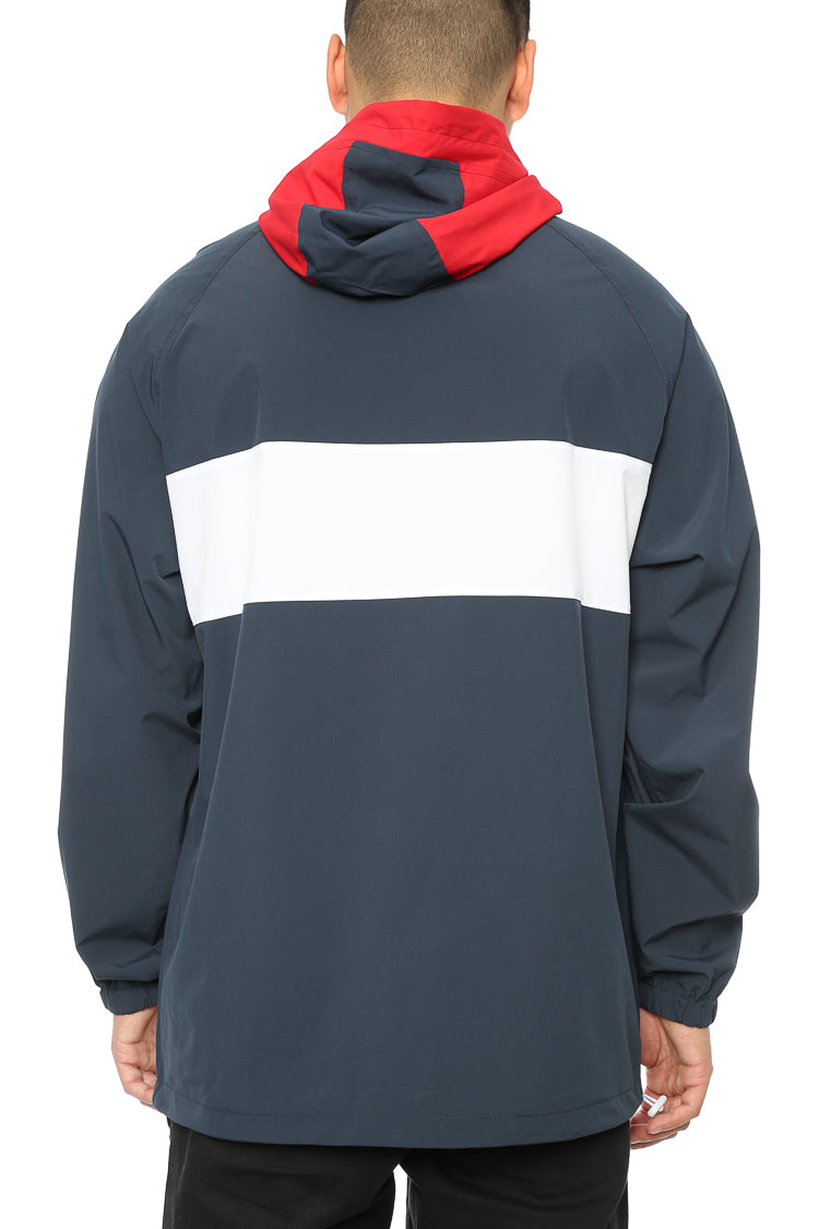 Carré Coquille Anorak Jacket Navy/Red/White