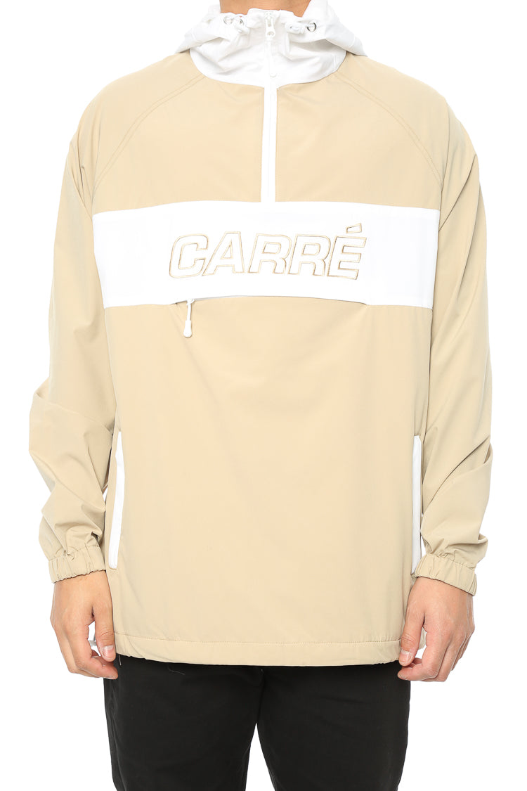 Carré Coquille Anorak Jacket Stone/White