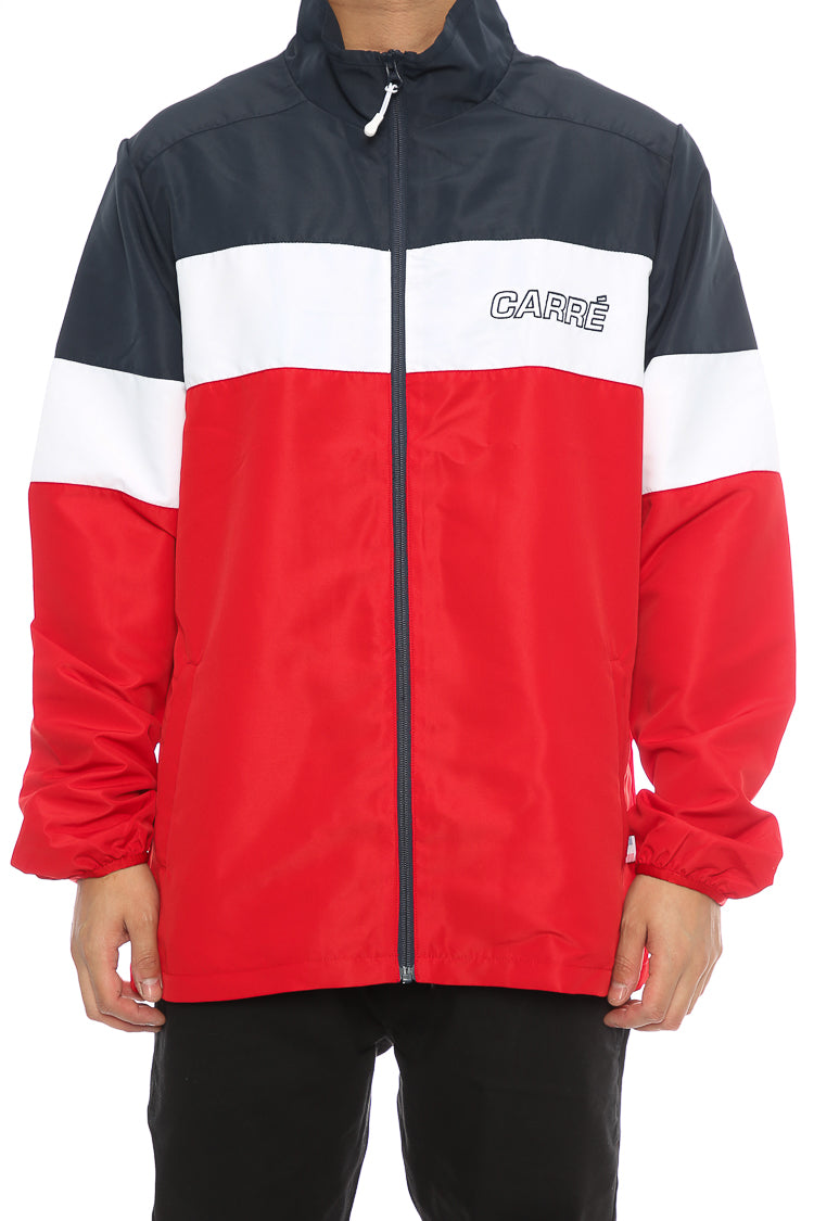 Carré Athletique Jacket Navy/Red/White