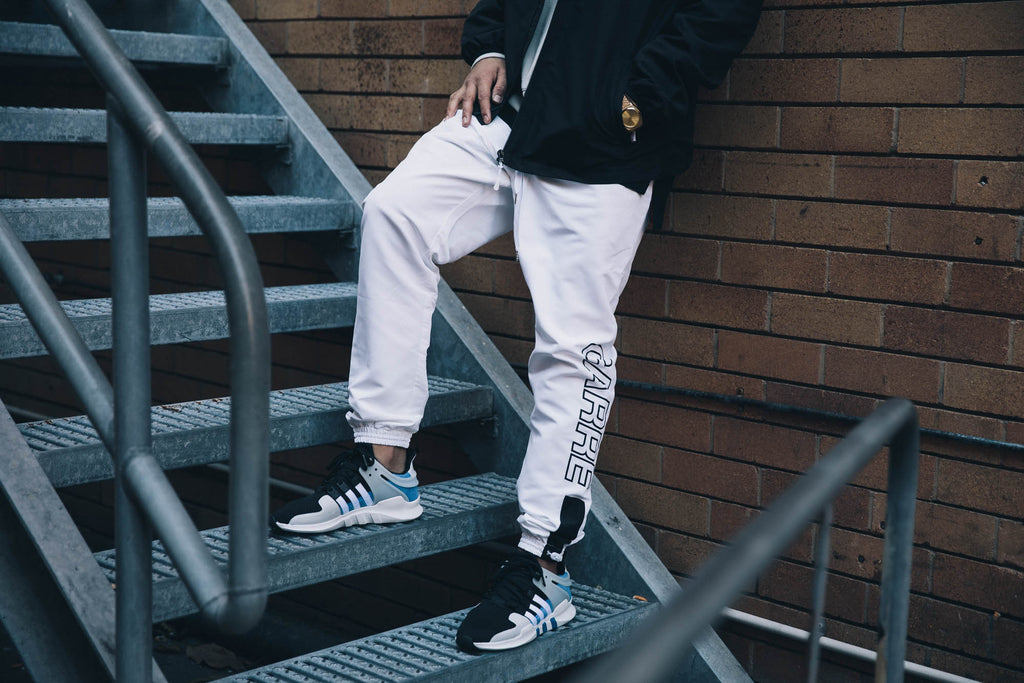 Carré Athletique Track Pants White