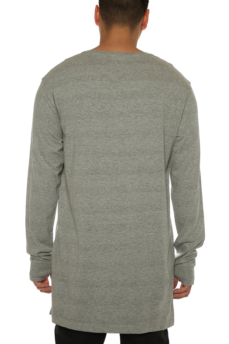 Carré Incline Capone 3 L/S Tee Grey Heather