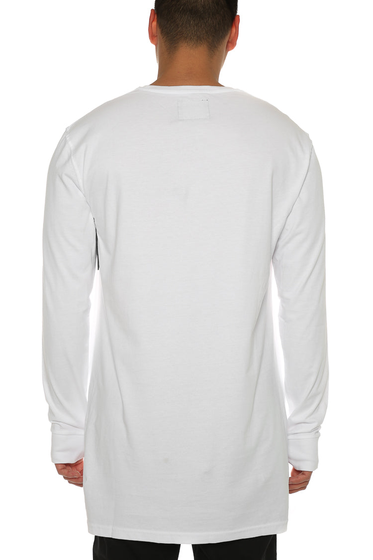 Carré Incline Capone 3 L/S Tee White