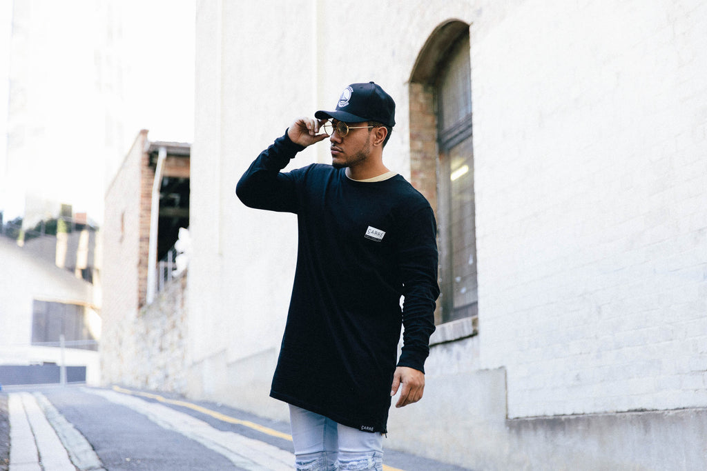 Carré Core Capone 3 Long Sleeve Tee Black