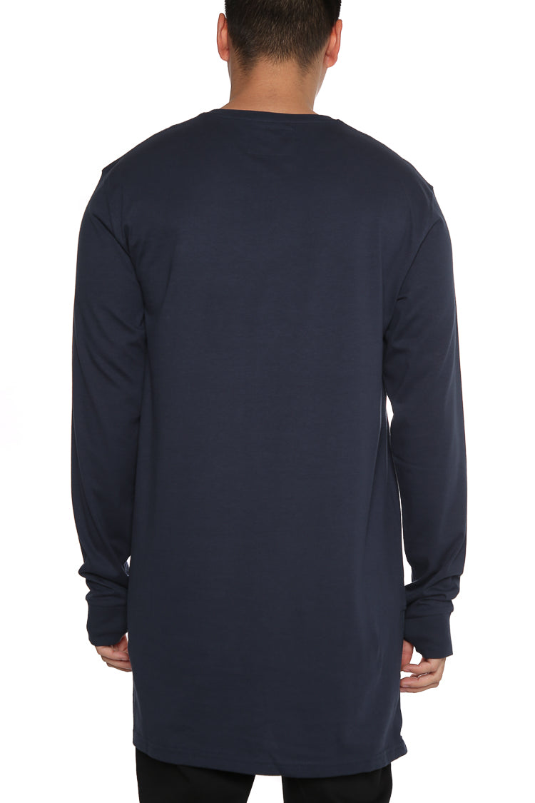 Carré Core Capone 3 Long Sleeve Tee Navy