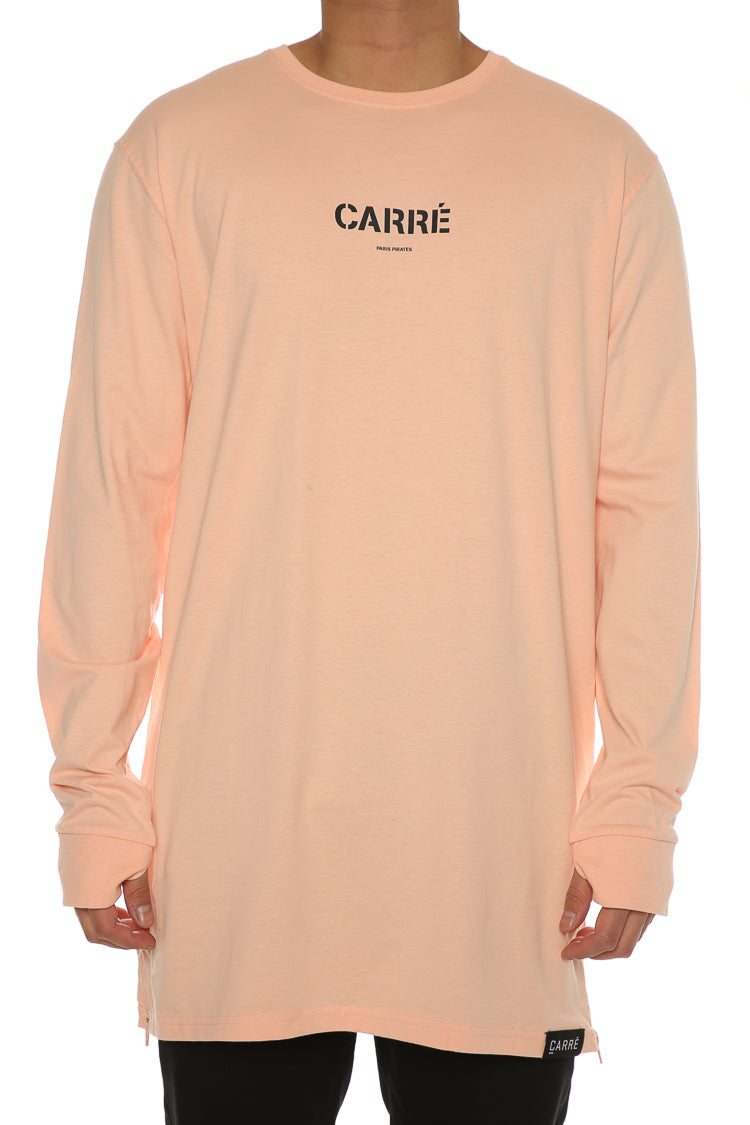 Carré Section 2 Capone 3 L/S Tee Peach