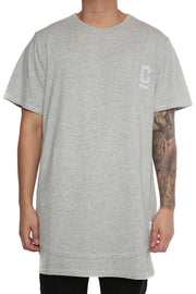 Carré C Icon Deviate Tee Grey Heather