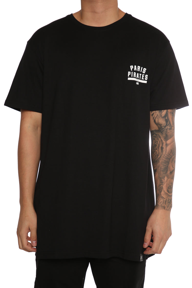 Carré Paris Pirates Divise 2.0 Tee Black