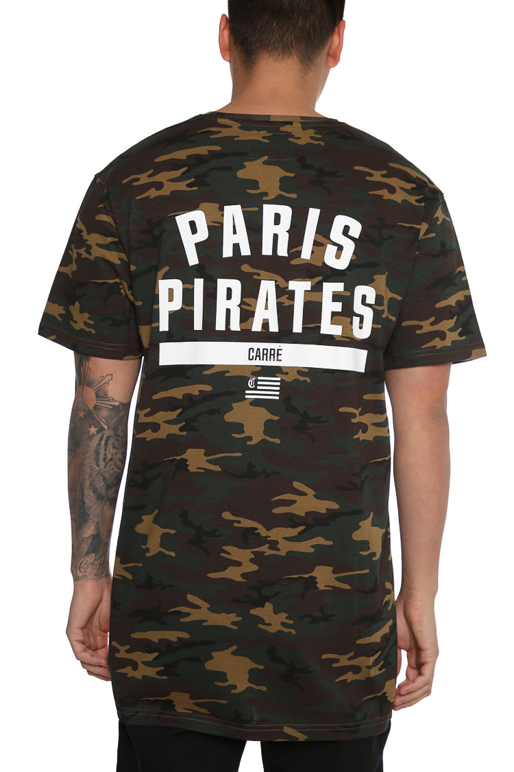 Carré Paris Pirates Divise 2.0 Tee Camo