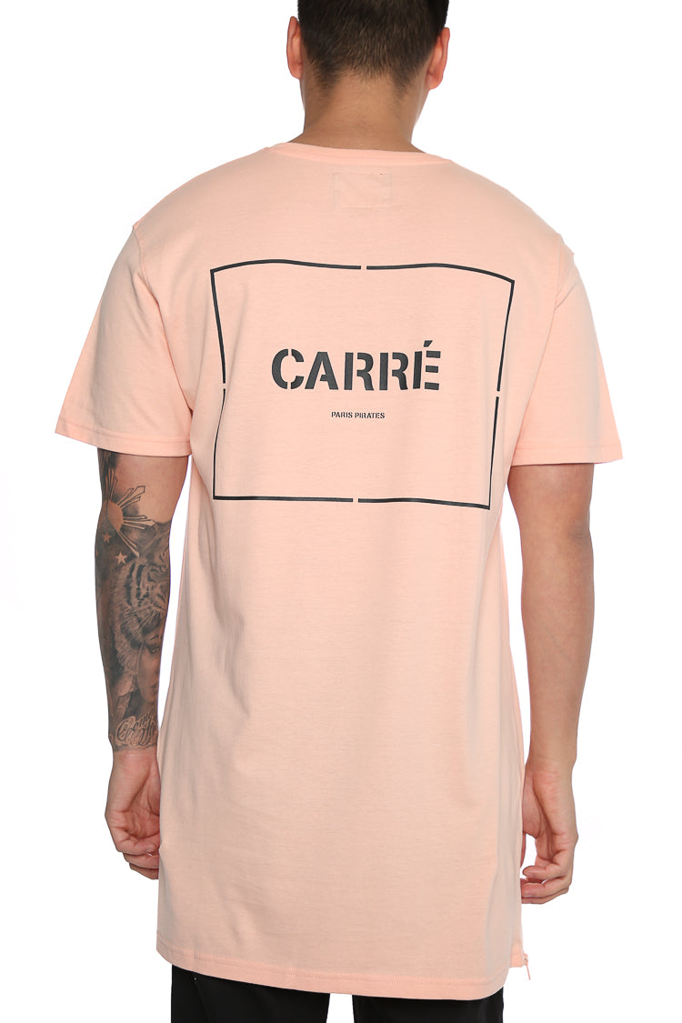 Carré Section Capone 3 SS Tee Peach