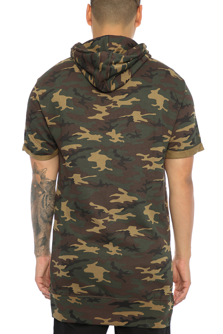 Carré Capital C Vaurien 3 Short Sleeve Hood Camo