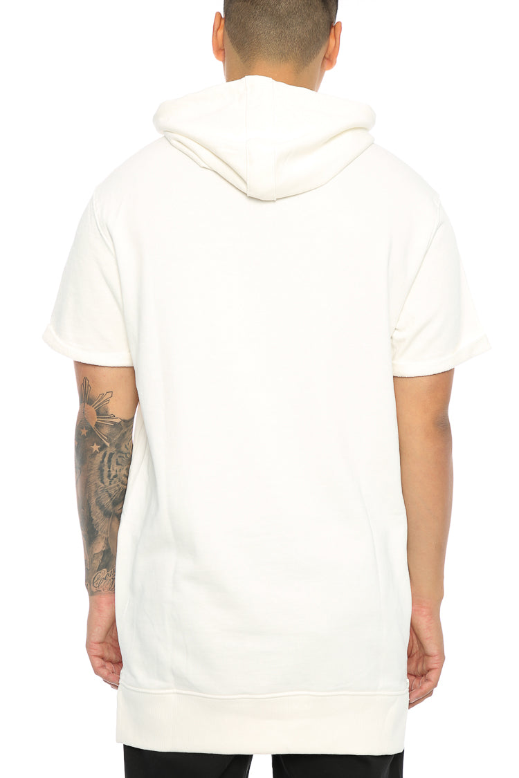 Carré Capital C Vaurien 3 Short Sleeve Hood Off White