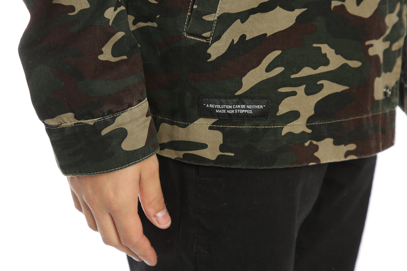 Carré Surplus Jacket Camo