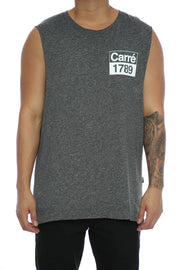 Carré Revolution Statique Muscle Tee Charcoal