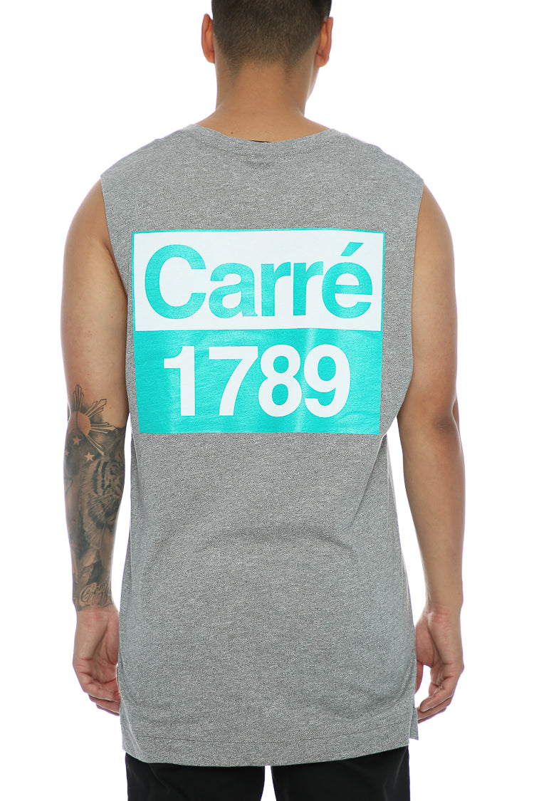 Carré Revolution Statique Muscle Tee Grey