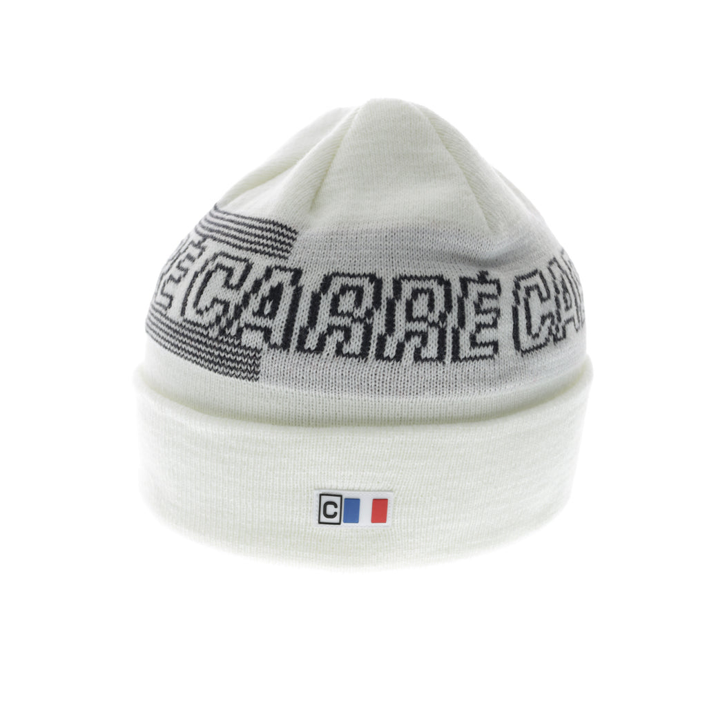 Carré Athletique Beanie White