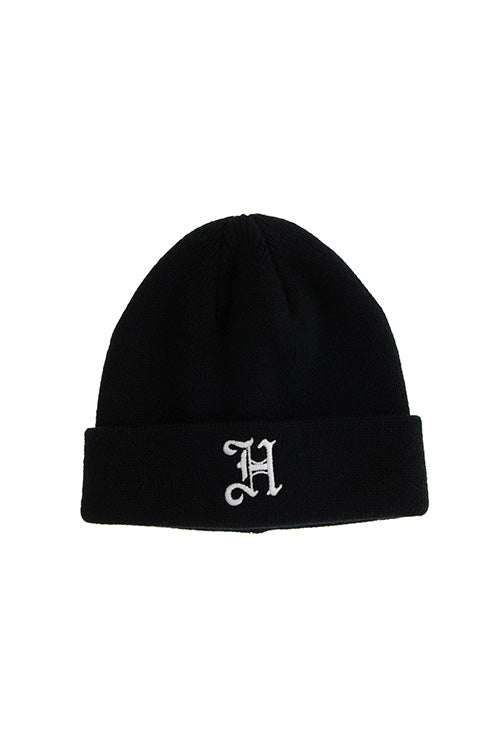 Lil Homme Olde H Toddler Beanie Black