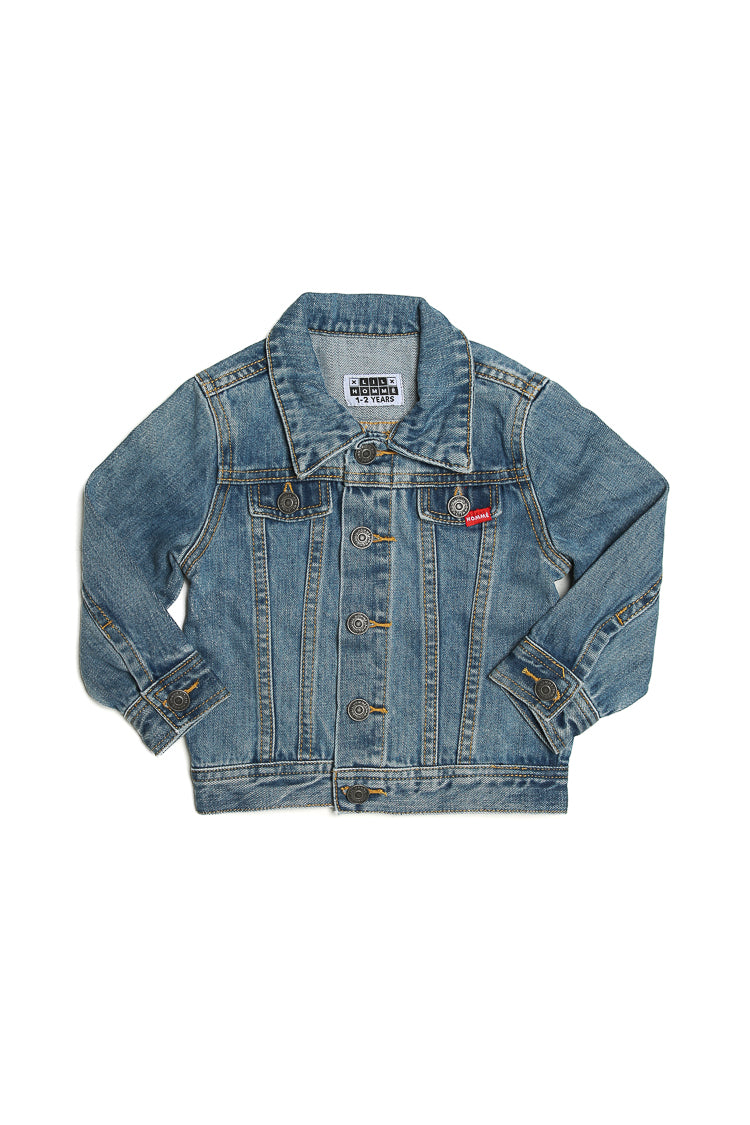 Lil Homme Denim Jacket Blue Denim