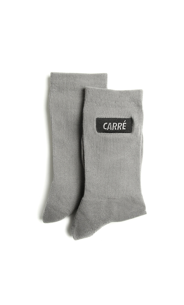 Carré Incline Socks Grey Heather