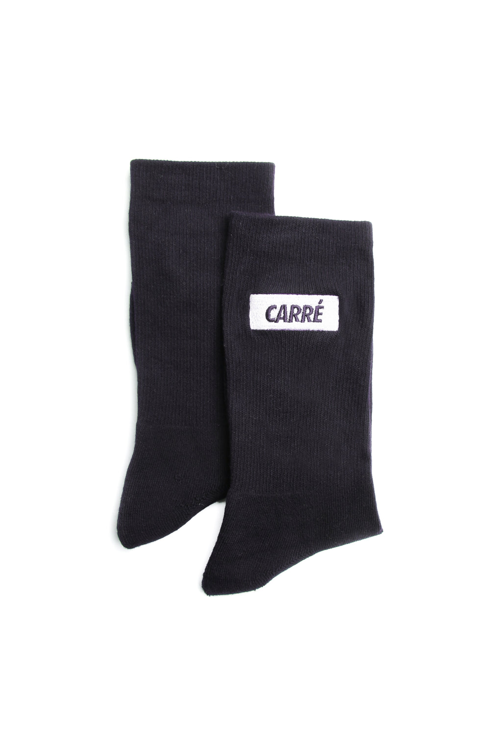 Carré Incline Socks Navy