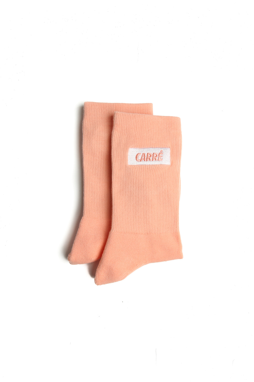 Carré Incline Socks Peach