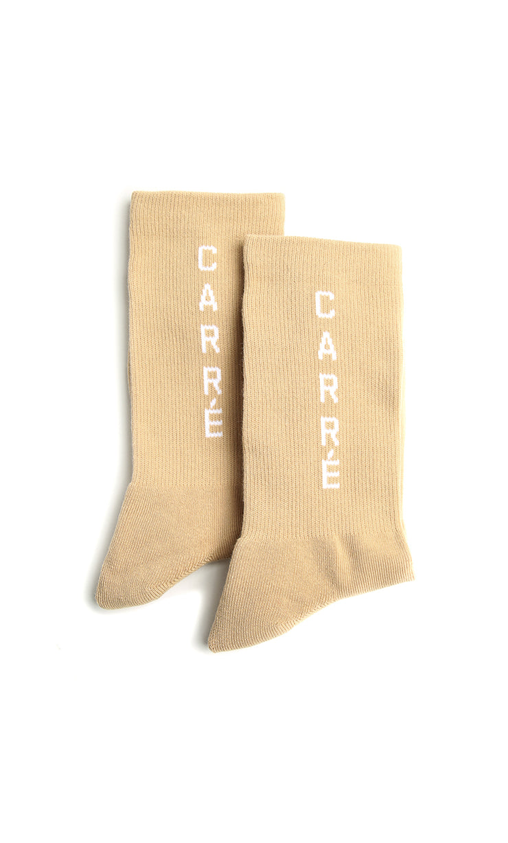 Carré Longitude Socks Stone