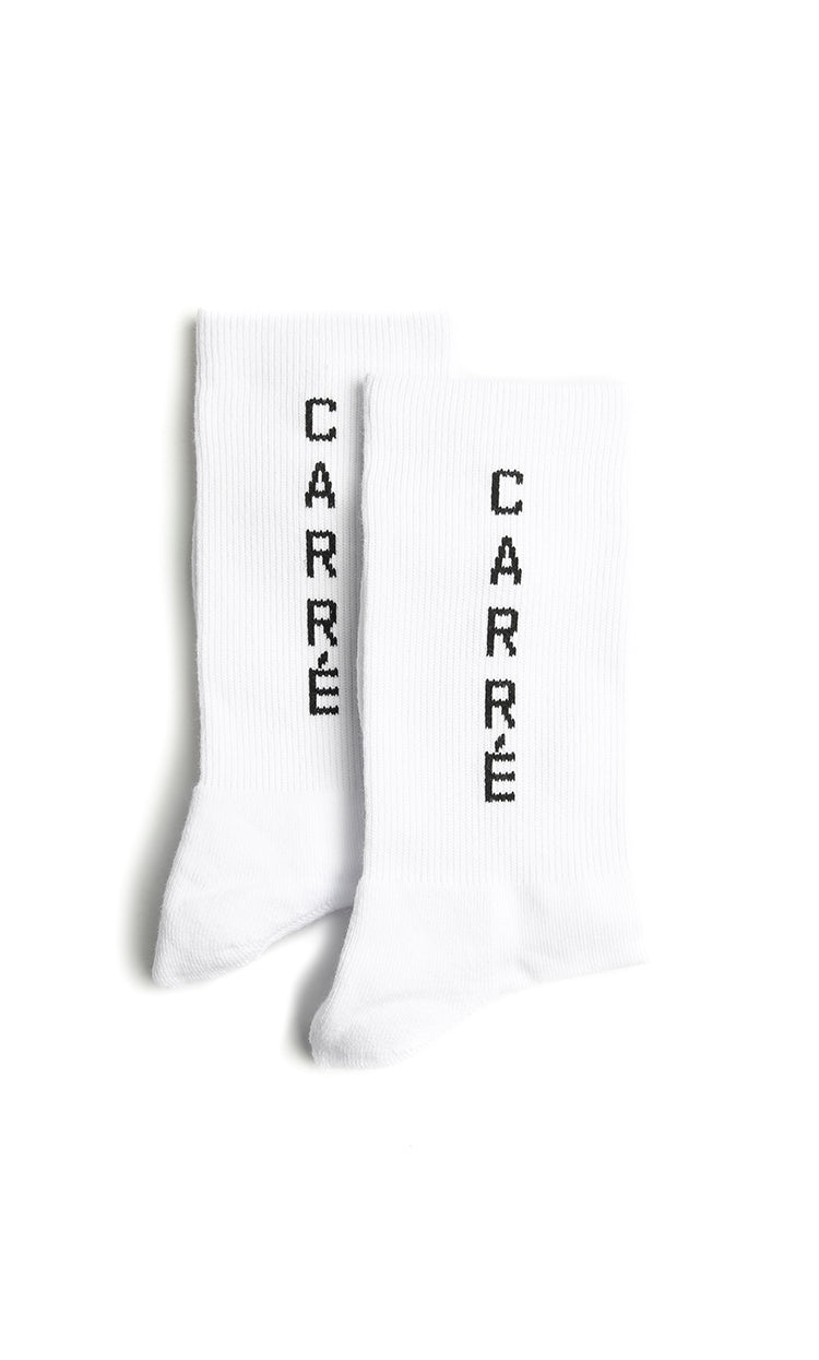 Carré Longitude Socks White