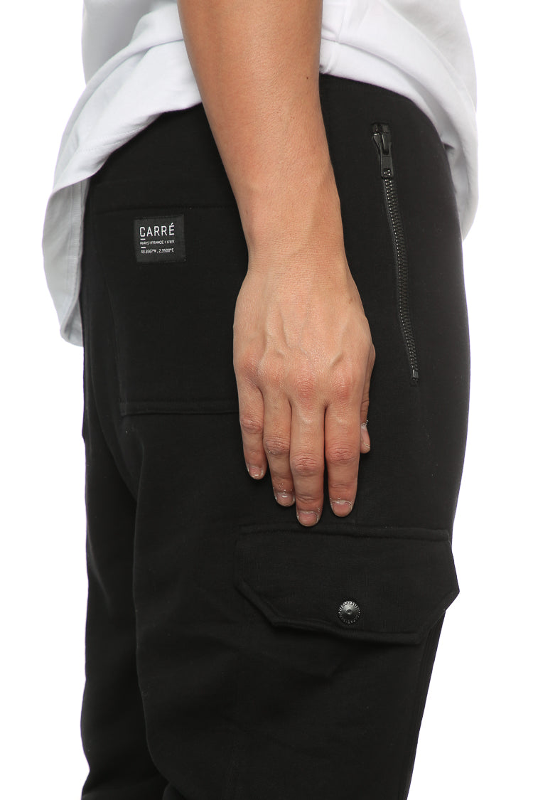 Carré Guerrier Trackpant Black