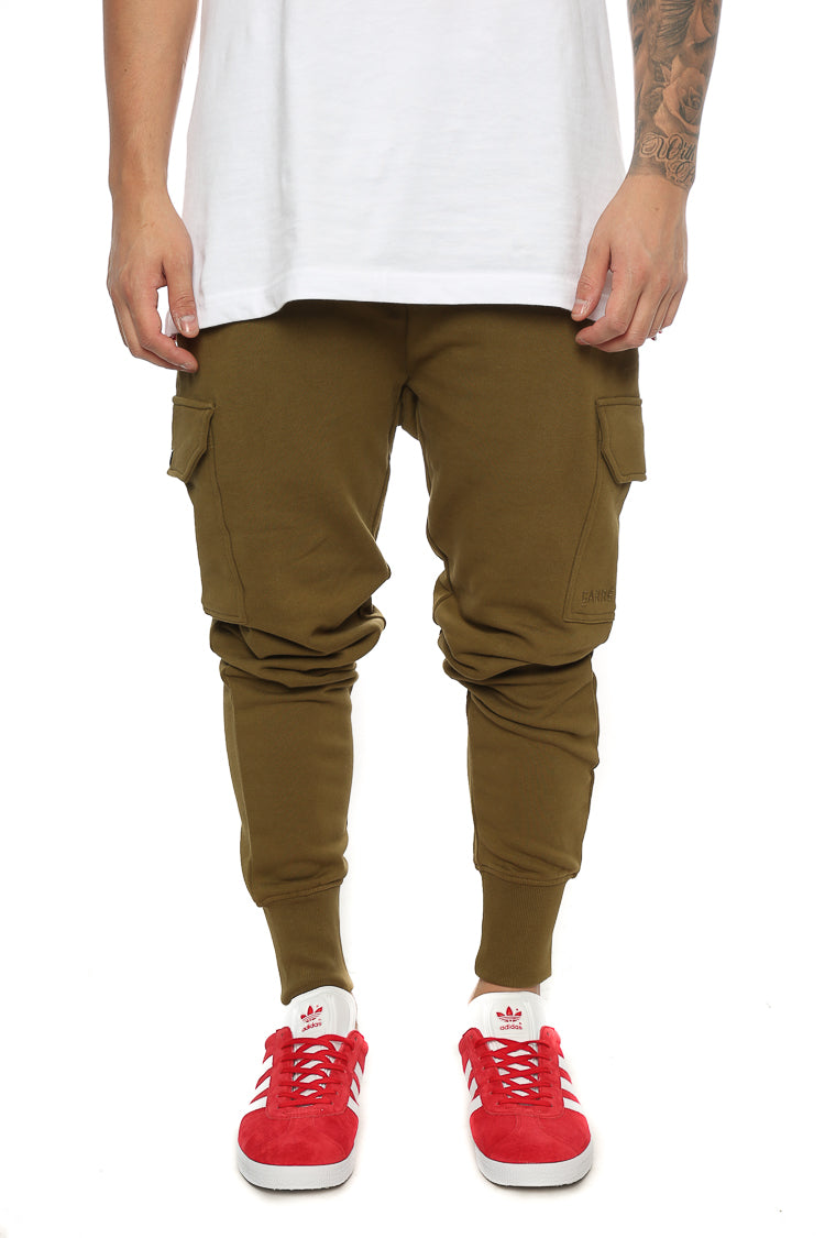 Carré Guerrier Trackpant Olive