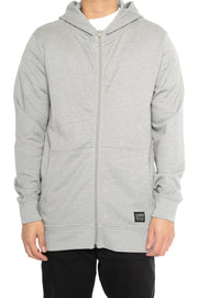 Carré Zip Thru Hoody 2.0 Grey Marle