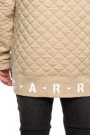 Carré Base Sweater Quilted Stone