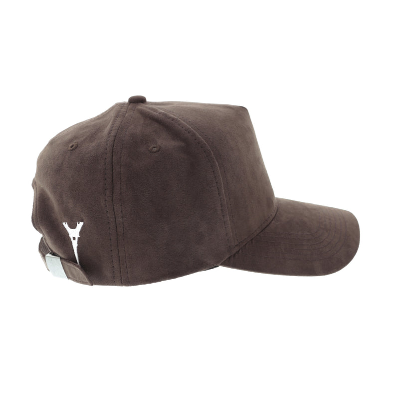 Carré Iron Lady Suede Strapback Brown