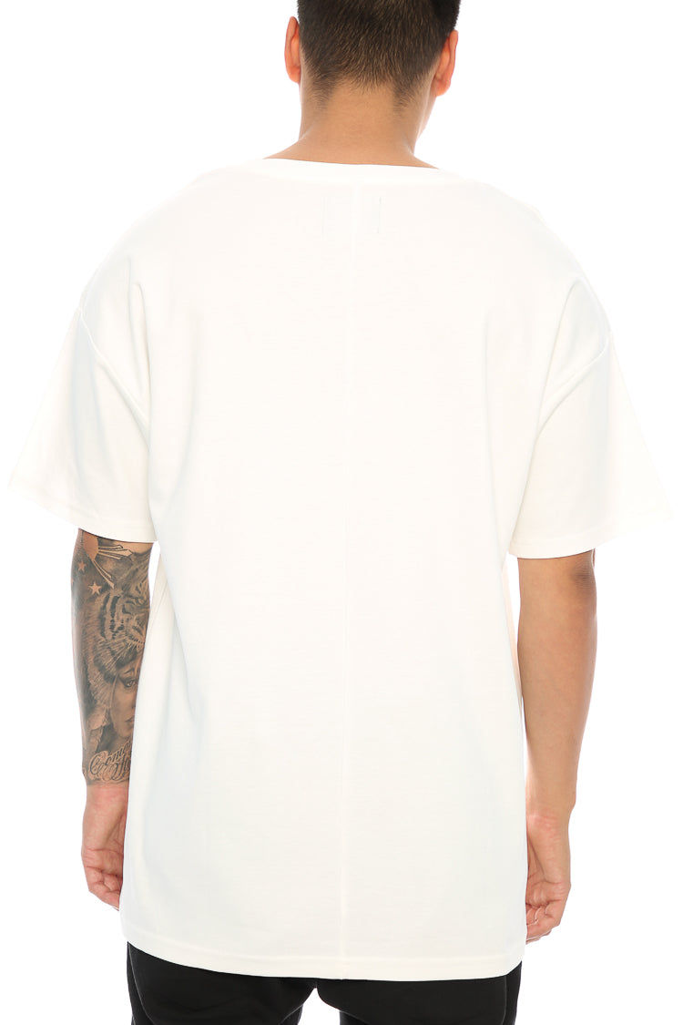 Carré Blueprint Terreux Tee Off White