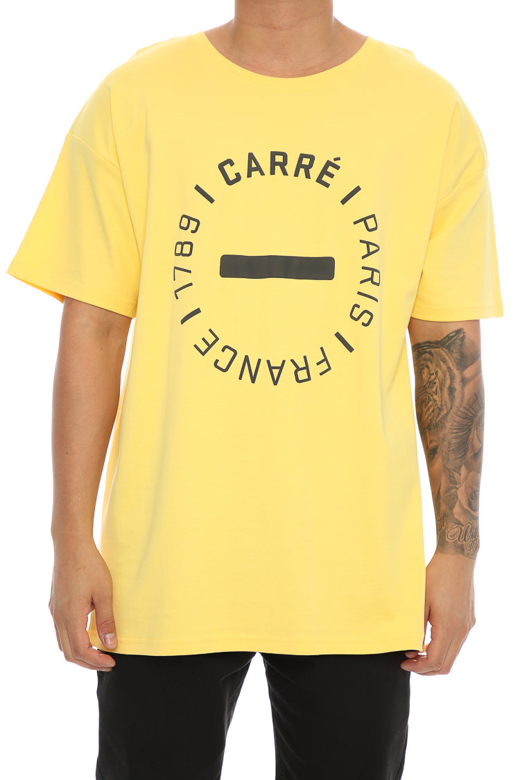 Carré Turn Terreux Tee Yellow