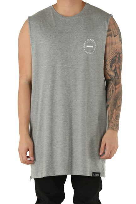Carré Turn Capone Muscle Tee Grey Heather