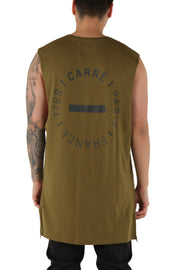 Carré Turn Capone Muscle Tee Olive