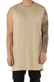 Carré Turn Capone Muscle Tee Stone