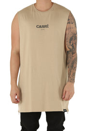 Carré Section 2 Capone Muscle Tee Stone