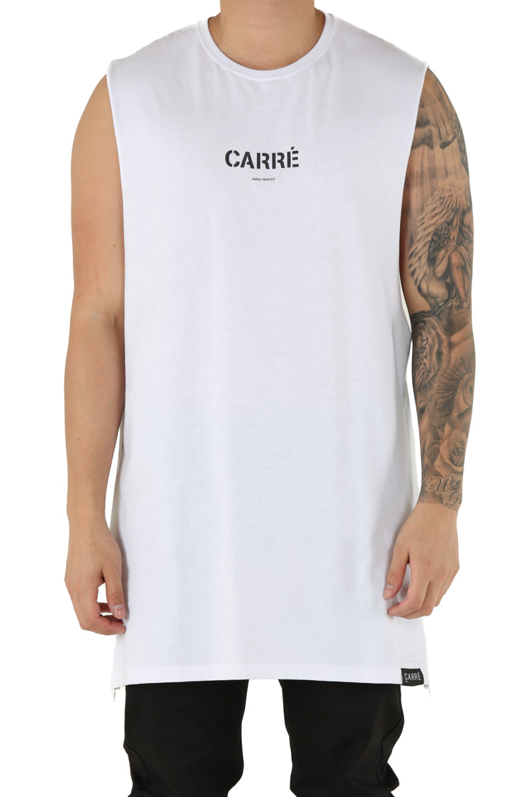 Carré Section 2 Capone Muscle Tee White
