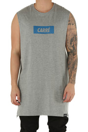 Carré Incline Capone Muscle Tee Grey Heather