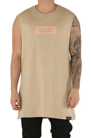 Carré Incline Capone Muscle Tee Stone