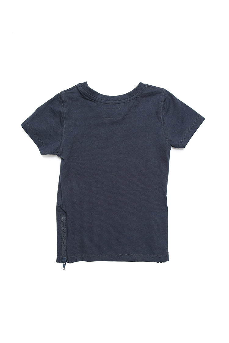 Lil Homme Lil No.5 Capone S/S Tee Navy