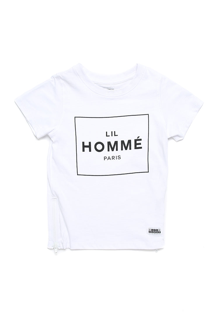 Lil Homme Lil No.5 Capone S/S Tee White